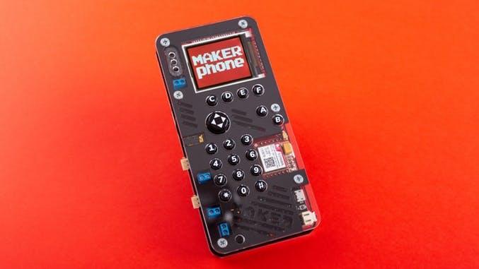 Makerphone – bau dir mit diesem Kickstarter-Projekt dein eigenes Handy