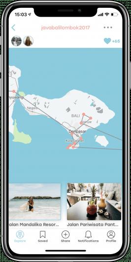 Mapify will die Reiseplanung erheblich vereinfachen. (Screenshot: © Mapify)