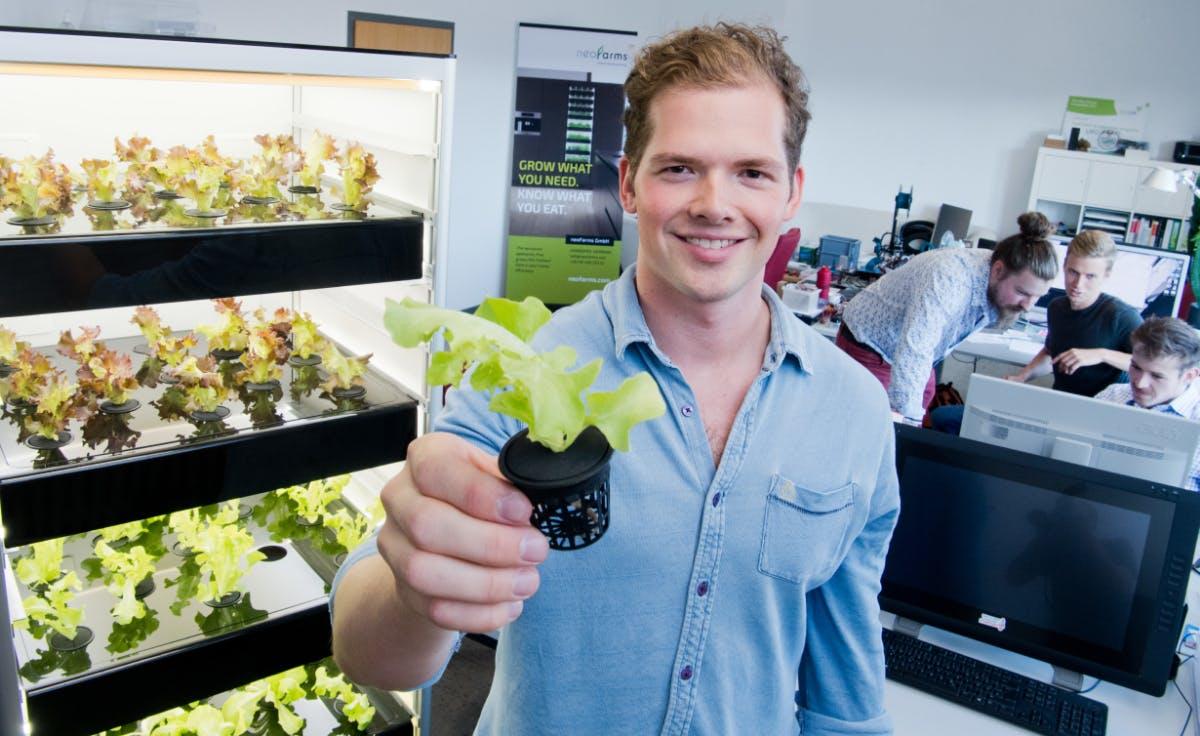 Neofarms: Dieses Startup bringt Nasa-Technologie in die Küche