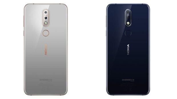 Nokia 7.1 in Grau und Blau. (Bild: HMD Global)