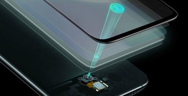 Der Fingerabdruckleser im Oneplus 6T. (Bild: Oneplus)