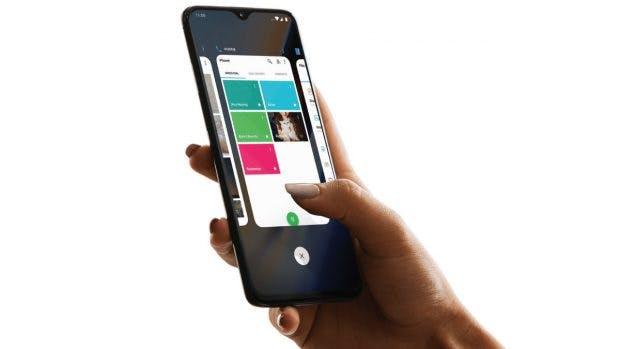 OxygenOS kommt mit zwei Varianten der Gestensteuerung: Zum einen die Eigenentwicklung, optional könnt ihr auf die von Googles Android Pie umstellen. (Bild: Oneplus)