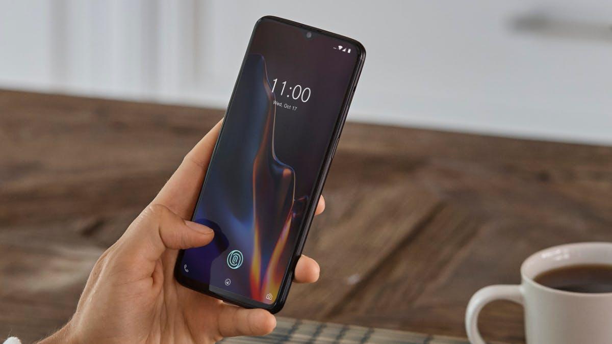 Oneplus 6T: Neues Topmodell mit In-Display-Fingerabdruckscanner und winziger Notch ist da