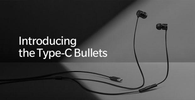 Die Oneplus Bullets mit USB-C-Stecker kommen zum Start des Oneplus 6T. (Bild: Oneplus)