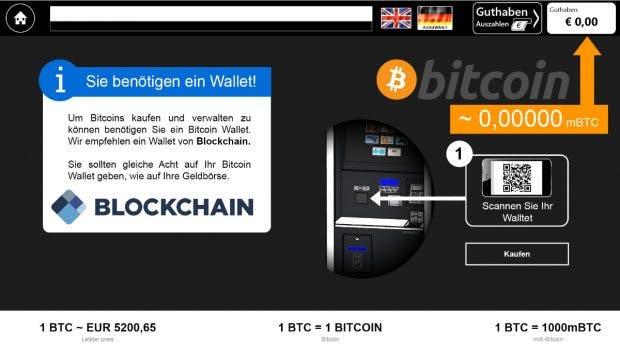 bc13d383a8 Bitcoin am Automaten  In München steht der erste deutsche Bitcoin-ATM