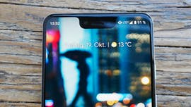 Die Notch des Pixel 3 XL ist zuerst unübersehbar - mit der Zeit nimmt man sie nicht mehr wahr . (Foto: t3n.de)