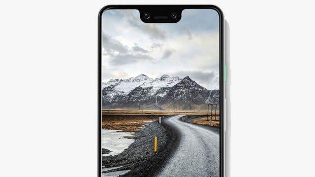 Pixel 3 XL: Viel Display, aber auch viel Notch. (Bild: Google)