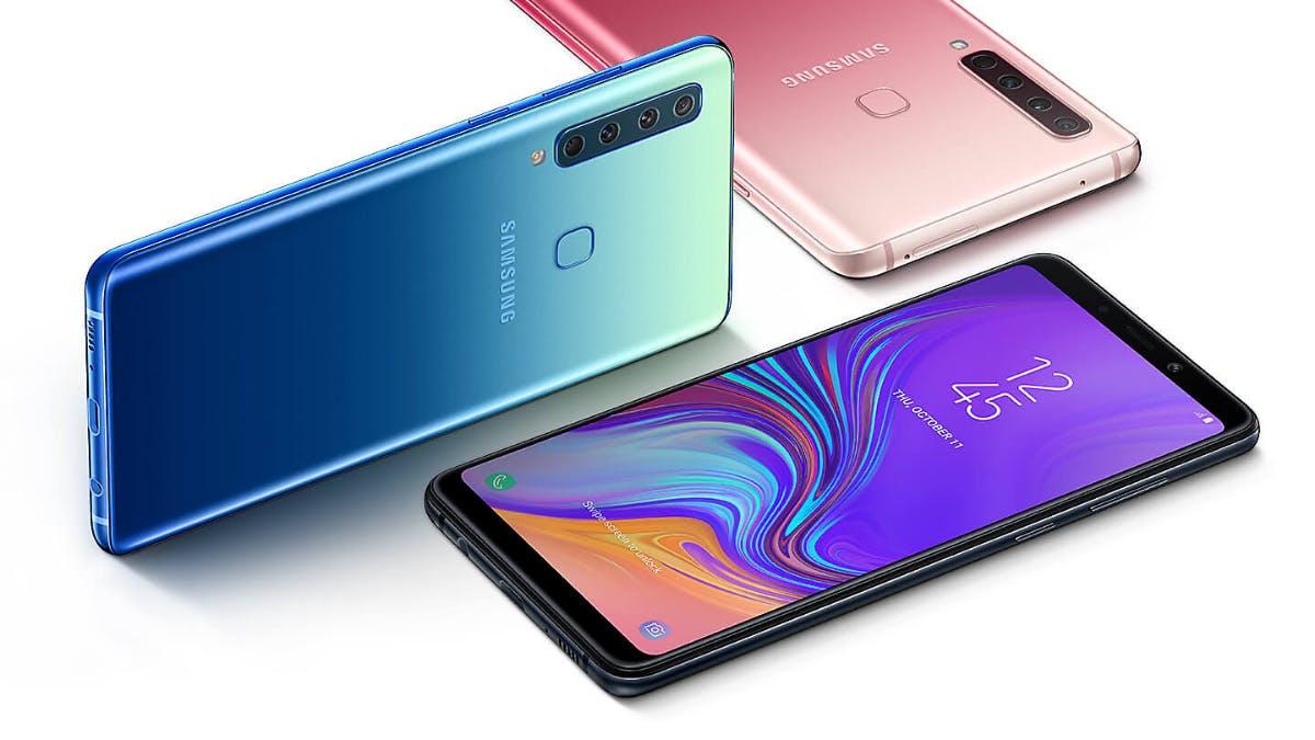 Samsung Galaxy A9 (2018): Das ist das erste Smartphone mit 4 Haupt-Kameras