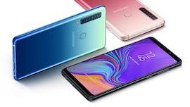Das Galaxy A9 kommt in drei Farben. (Bild: Samsung)
