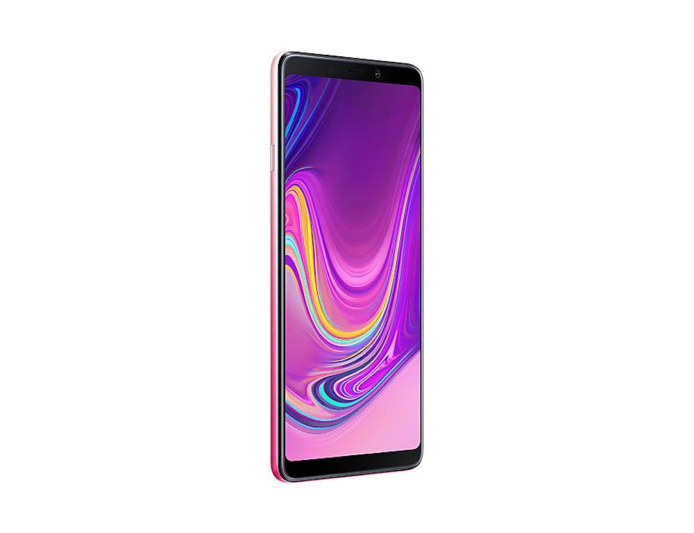 Samsung Galaxy A9 (2018) in Pink. (Bild: Samsung)