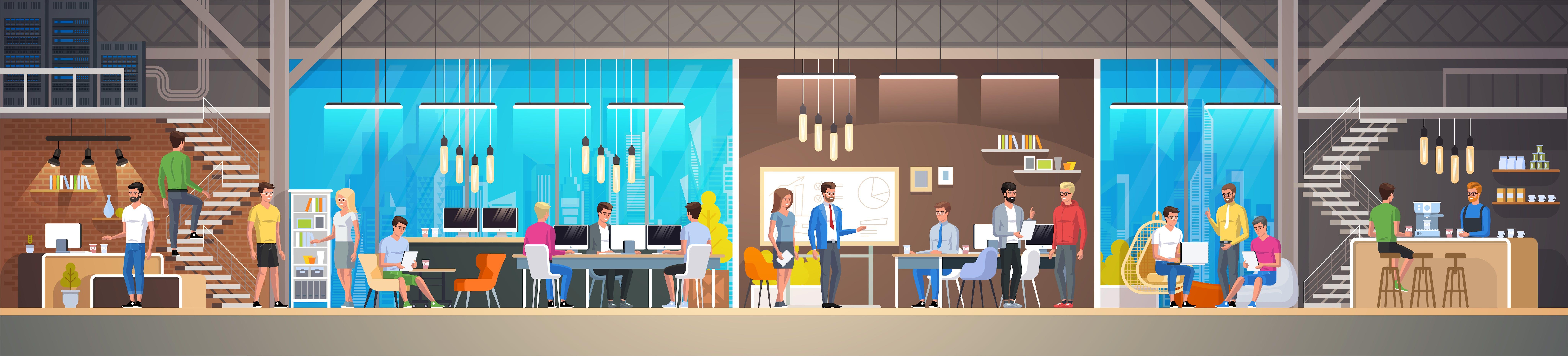 10 Dinge, die du nur kennst, wenn du im Coworking-Space arbeitest