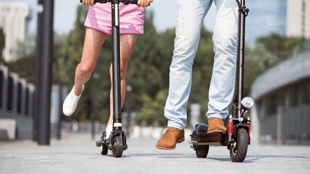 Tretroller statt Taxi: Mytaxi will künftig auch E-Roller verleihen