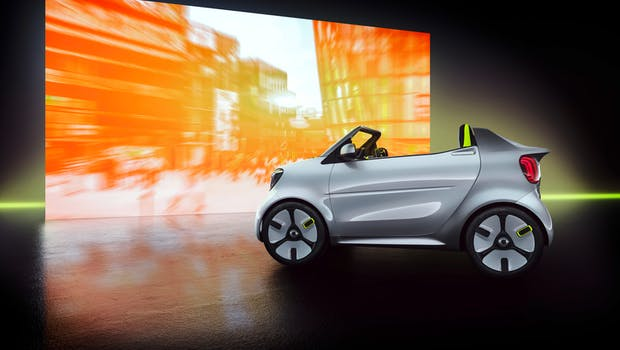 Smart Forease. (Bild: Daimler AG)