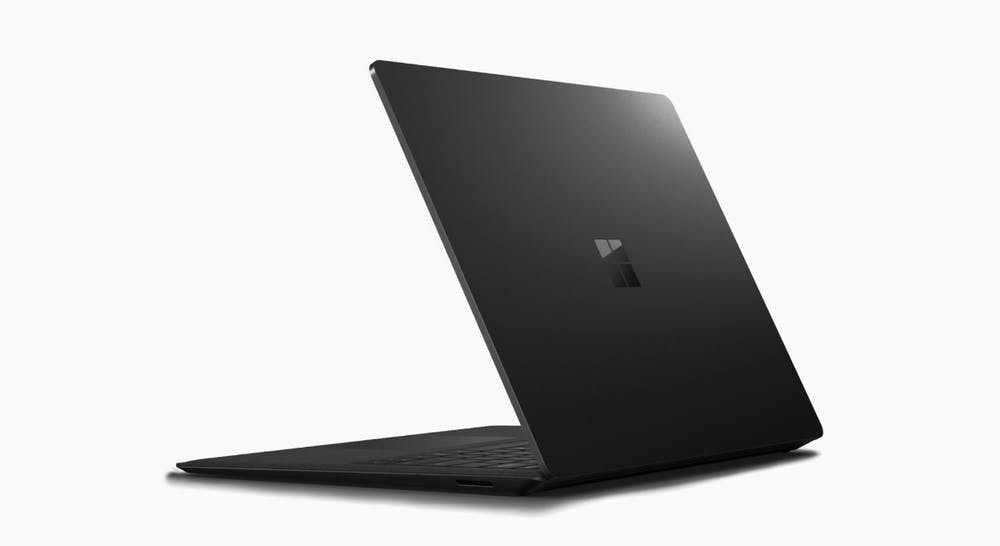 Surface Laptop 2 in schwarz. (Bild: Microsoft)