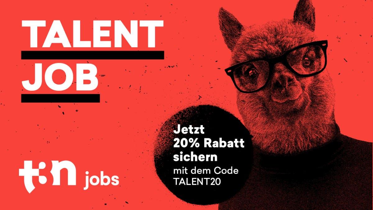 Junge Talente gesucht? 20 Prozent Rabatt auf das neue Paket bei t3n Jobs