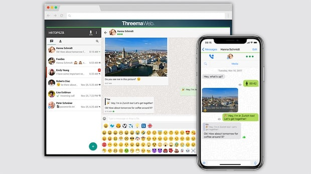Threema 4 für iOS: Unterstützung für den Web-Client ist jetzt da