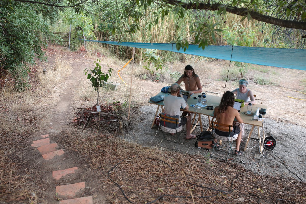 Eco-Working: Mit dem Laptop in der Pampa