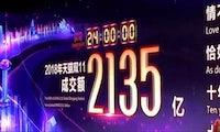 Amazon-Rivale Alibaba macht am Singles' Day über 1 Milliarde Euro – innerhalb von 2 Minuten