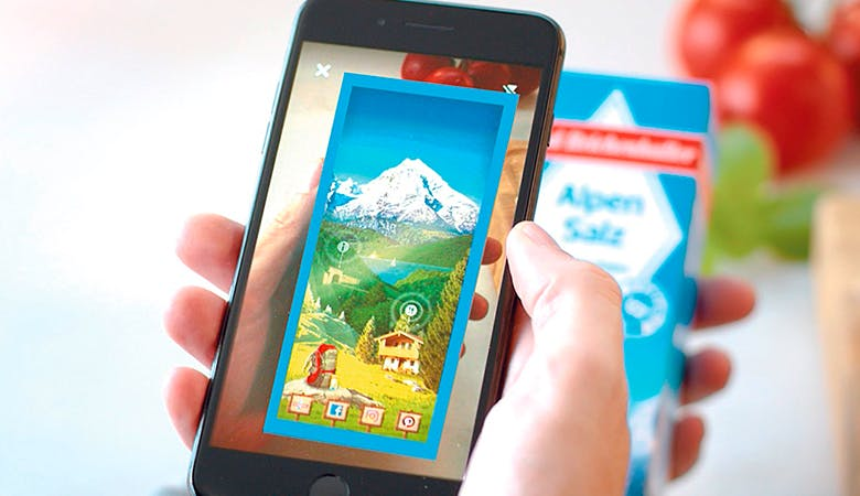 Food-Marketing-Augmented-Reality