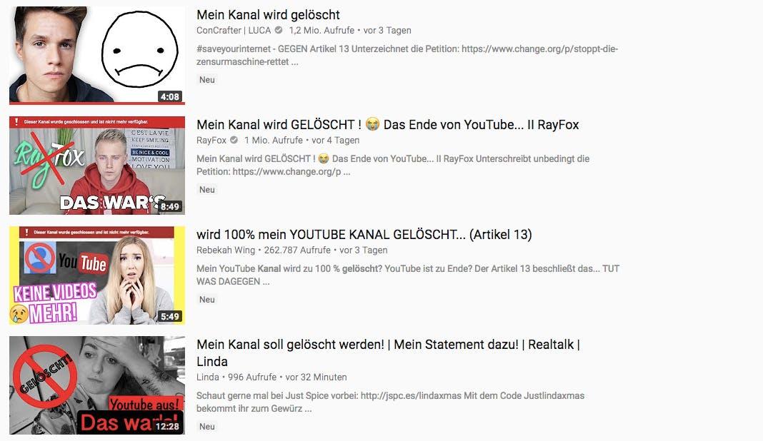 EU-Urheberrechtsreform versetzt Youtuber in Panik – zu recht?