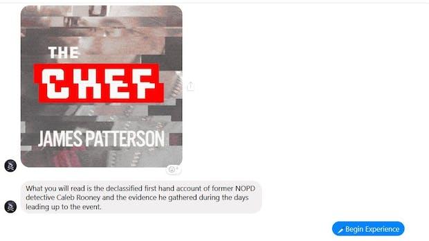 Chatten statt Blättern: Krimi-Autor Patterson veröffentlicht Buch im Messenger