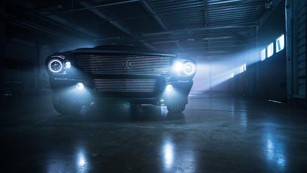 Elektrifizierter Ford Mustang. (Bild: Facebook/Charge)