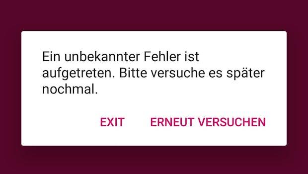 Per SMS bei Foodora bestellen? Denkste! Foodora erkennt nicht mal, wo genau das Problem liegt. (Screenshot: t3n)