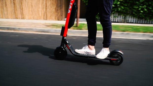 Jump Bikes hat auch E-Scooter im Programm – aber noch nicht in Deutschland. (Foto; Jump Bikes)