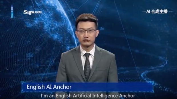 Präsentiert künstliche Intelligenz bald die News? Das ist der Nachrichtensprecher der Zukunft