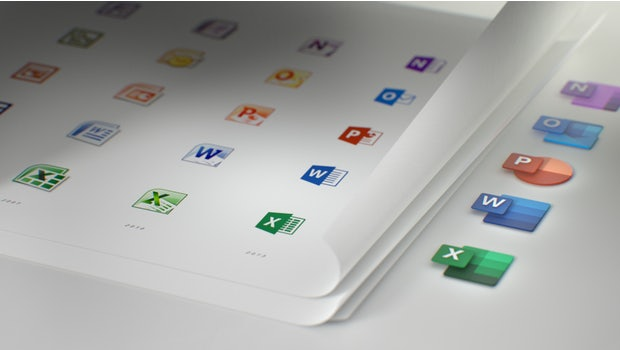 Alle Office-Icons haben ein neues Design. (Bild: Medium/ Microsoft)