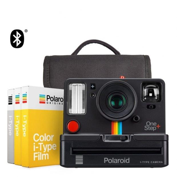 Sofortbildkamera trifft auf Bluetooth: die Polaroid OneStep+. (Foto: Polaroid Originals)