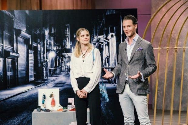 Tahnee Laternser und Julian Straube von Safaya (Foto: MG RTL D)