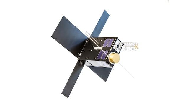 So sehen die schuhkartongroßen Satelliten aus, die Hiber ins all schießen will. (Bild: Hiber)