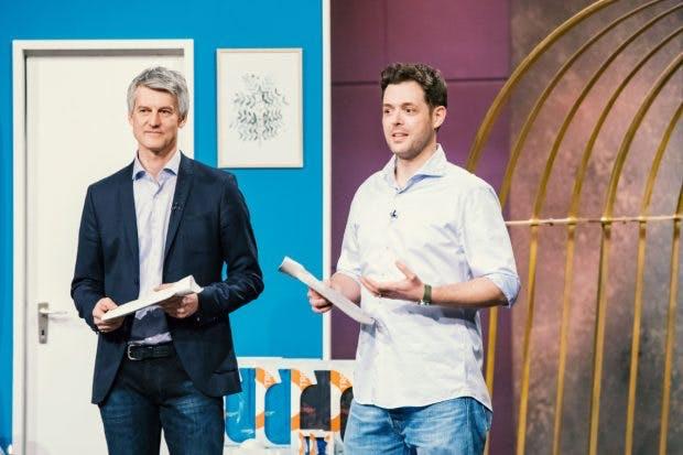 Volker Junior (l.) und Benjamin Ohmer von Troy (Foto: MG RTL D)