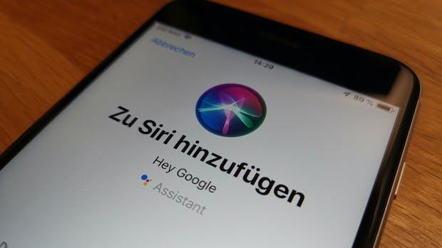Kurzbefehle machen's möglich: Google Assistant auf dem iPhone per Sprachbefehl nutzen