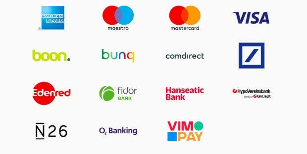 Diese Banken sind beim Deutschland-Start von Apple Pay in Deutschland dabei. (Screenshot: t3n.de; Apple)