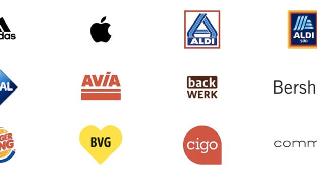 Apple Pay: Diese Shops sind dabei. (Screenshot: t3n.de/Apple)