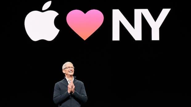 """Apple-Chef Tim Cook: Neue Produkte """"hauen euch um"""""""