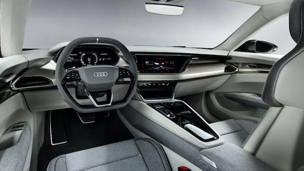 Das Interieur des Audi E-Tron GT Concept. (Foto: Audi AG)
