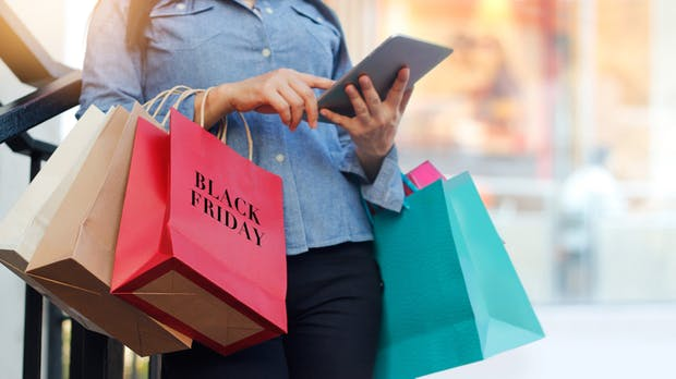 Shopping am Black Friday: Für den stationären Handel eher flop, aber für den E-Commerce top
