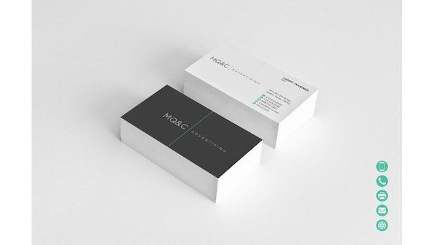 Ein einfaches Schwarz-Weiß kann eine Markenbotschaft vermitteln. Via BlueMoon.
