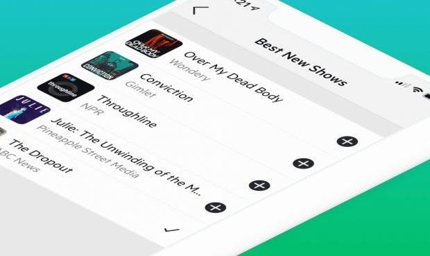 Castro Podcast-App mit Discovery-Funktion. (Bild: Castro)