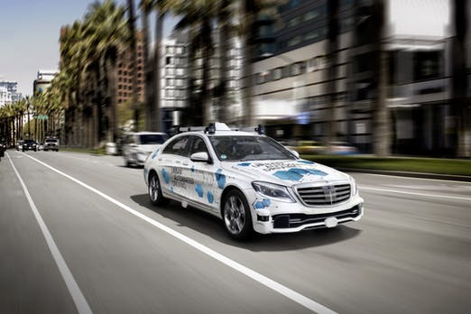 Bosch und Daimler testen fahrerlosen Mitfahrservice ab 2019 in San José