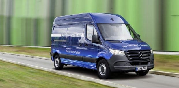 Daimler hat mit dem Mercedes-Benz E-Sprinter einen E-Van im Angebot. (Bild: Mercedes-Benz)