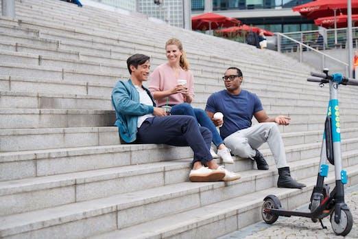 E-Scooter-Sharing: 22 Millionen Dollar für Berliner Startup Wind Mobility