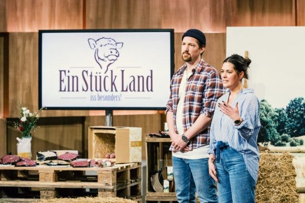 Lina-Louisa Kypke und Hinrich Carstensen von Ein Stück Land (Foto: MG RTL D)