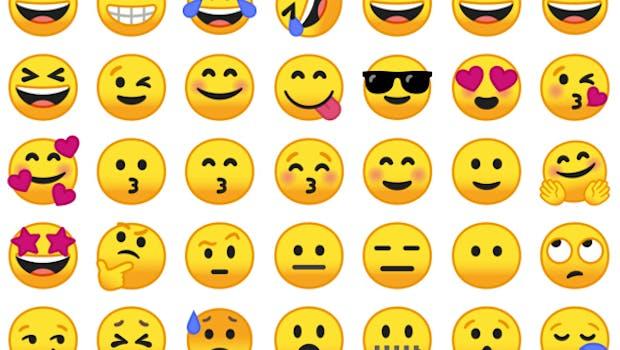 Googles Emojis findet ihr unter einer freien Lizenz auf GitHub. (Screenshot: Emojipedia)