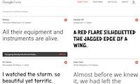 Qualität statt Quantität: Die 50 schönsten Google-Fonts