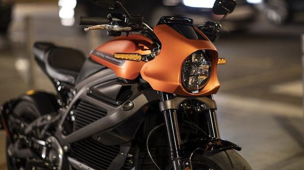 Das erste E-Motorrad von Harley Davidson: Livewire