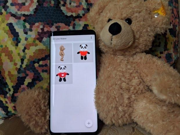 Der Live 3D-Maker für das Huawei Mate 20 Pro benötigt noch etwas Feinschliff. (Foto: t3n.de)